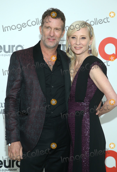 Ann Heche, Anne Heche, Elton John, Thomas Jane Photo - 09 February 2020 - West Hollywood, California - Thomas Jane, Anne Heche. 28th Annual Elton John Academy Awards Viewing Party held at West Hollywood Park. Photo Credit: FS/AdMedia