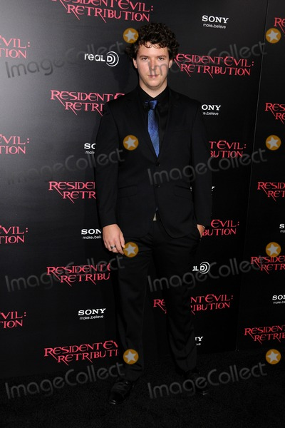 """Cory Scarborough Photo - 12 September 2012 - Los Angeles, California - Cory Scarborough. """"Resident Evil: Retribution"""" Los Angeles Premiere held at Regal Cinemas L.A. Live. Photo Credit: Byron Purvis/AdMedia"""
