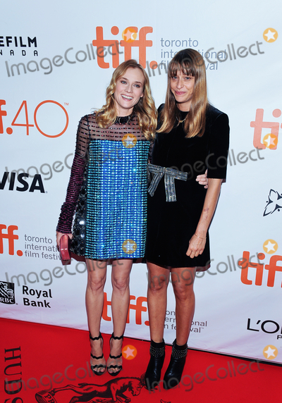 """Diane Kruger, Alice Winocour Photo - 17 September 2015 - Toronto, Ontario, Canada - Diane Kruger, Alice Winocour. """"Disorder"""" Premiere during the 2015 Toronto International Film Festival held at Roy Thomson Hall. Photo Credit: Brent Perniac/AdMedia"""