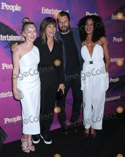 Allison Miller, James Roday, Stephanie Szostak, Christina Moses Photo - 13 May 2019 - New York, New York - Allison Miller, Stephanie Szostak, James Roday and Christina Moses at the Entertainment Weekly & People New York Upfronts Celebration at Union Park in Flat Iron. Photo Credit: LJ Fotos/AdMedia