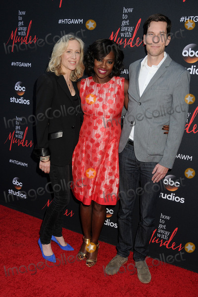"Betsy Beers, Viola Davis, Peter Nowalk Photo - 28 May 2015 - Hollywood, California - Betsy Beers, Viola Davis, Peter Nowalk. ""How To Get Away With Murder"" ATAS Event held at Sunset Gower Studios. Photo Credit: Byron Purvis/AdMedia"