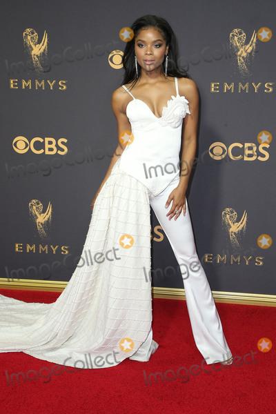 Ajiona Alexus Photo - 17 September 2017 - Los Angeles, California - Ajiona Alexus. 69th Annual Primetime Emmy Awards held at Microsoft Theater. Photo Credit: F. Sadou/AdMedia
