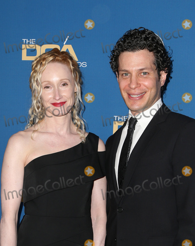 Angela Christian, Thomas Kail Photo - 04 February 2016 -  Beverly Hills, California - Thomas Kail, Angela Christian. 69th Annual Directors Guild Of America Awards held at The Beverly Hilton Hotel. Photo Credit: Faye Sadou/AdMedia