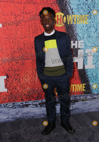 """Alex Hibbert Photo - 03 January 2018 - Los Angeles, California - Alex Hibbert. Premiere of Showtimes' new series """"TheChi"""" held at Downtown Independent in Los Angeles. Photo Credit: Birdie Thompson/AdMedia"""
