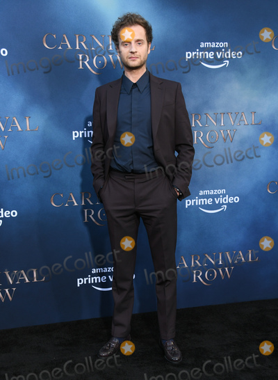 """Andrew Gower, TCL Chinese Theatre Photo - 21 August 2019 - Hollywood, California - Andrew Gower. """"Carnival Row"""" Los Angeles Premiere held at TCL Chinese Theatre. Photo Credit: Birdie Thompson/AdMedia"""