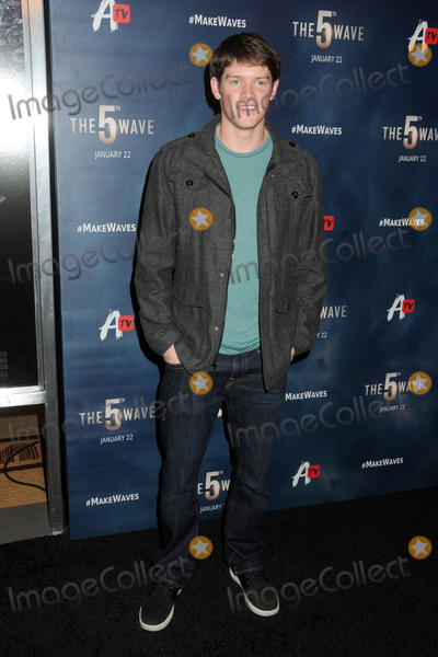 "Alex MacNicoll Photo - 14 January 2016 - Los Angeles, California - Alex MacNicoll. ""The 5th Wave"" Los Angeles Premiere held at Pacific Theatres At The Grove. Photo Credit: Byron Purvis/AdMedia"