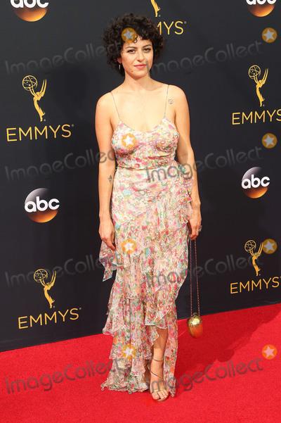 Alia Shawkat, Alias Photo - 18 September 2016 - Los Angeles, California - Alia Shawkat. 68th Annual Primetime Emmy Awards held at Microsoft Theater. Photo Credit: AdMedia