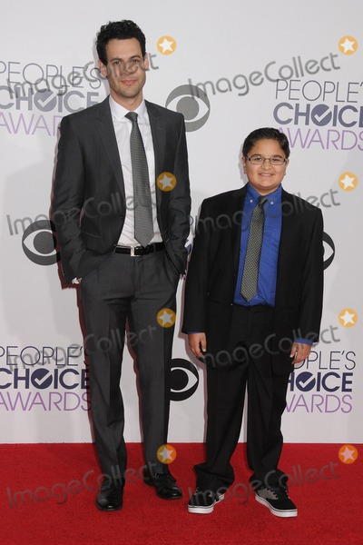 Andrew Leeds, Jacob Guenther Photo - 7 January 2015 - Los Angeles, California - Andrew Leeds, Jacob Guenther. People's Choice Awards 2015 - Arrivals held at the Nokia Theatre LA Live. Photo Credit: Byron Purvis/AdMedia