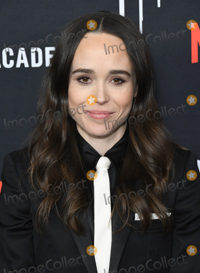 """Ellen Page Photo - 12 February 2019 - Hollywood, California - Ellen Page. Netflix's """"The Umbrella Academy"""" Los Angeles Premiere held at the Arclight Hollywood. Photo Credit: Birdie Thompson/AdMedia"""