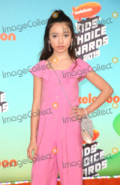 Sophie Michelle Photo - 23 March 2019 - Los Angeles, California - Sophie Michelle. 2019 Nickelodeon Kids' Choice Awards held at The USC Galen Center. Photo Credit: Faye Sadou/AdMedia