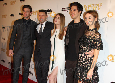 Ashley Greene, James Franco, Nat Wolff, Austin Stowell, ASHLEY GREEN, Ahna OReilly Photo - 15 February 2017 - Los Angeles, California - Austin Stowell, Director James Franco, Ashley Greene, Nat Wolff and Ahna OReilly. In Dubious Battle Los Angeles Premiere held at the ArcLight Hollywood Theatre in Hollywood. Photo Credit: AdMedia