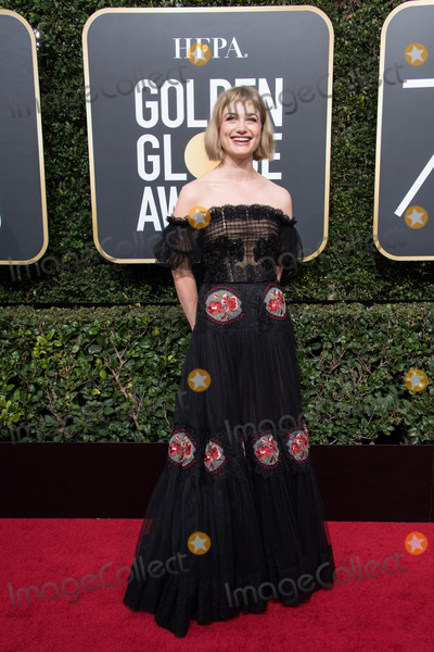 Alison Sudol Photo - 07 January 2018 - Beverly Hills, California - Alison Sudol. 75th Annual Golden Globe Awards held at the Beverly Hilton. Photo Credit: HFPA/AdMedia
