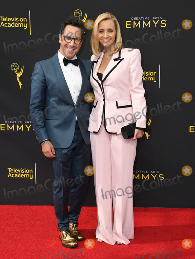 Dan Bucatinsky, Lisa Kudrow Photo - 14 September 2019 - Los Angeles, California - Lisa Kudrow, Dan Bucatinsky. 2019 Creative Arts Emmys Awards - Arrivals held at Microsoft Theater L.A. Live. Photo Credit: Birdie Thompson/AdMedia