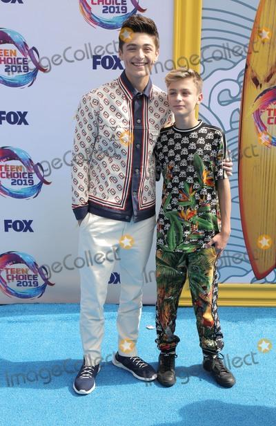 Asher Angel, Avi Angel Photo - 11 August 2019 - Hermosa Beach, California - Asher Angel, Avi Angel. FOX's Teen Choice Awards 2019 held at Hermosa Beach Pier. Photo Credit: PMA/AdMedia