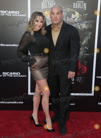 Amber Nicole, Nicole Miller, Tito Ortiz Photo - 26 June 2018 - Westwoof, California - Tito Ortiz, Amber Nicole Miller. Premiere of 'Sicario: Day of the Soldado' held at Westwood Regency Theater.  Photo Credit: PMA/AdMedia