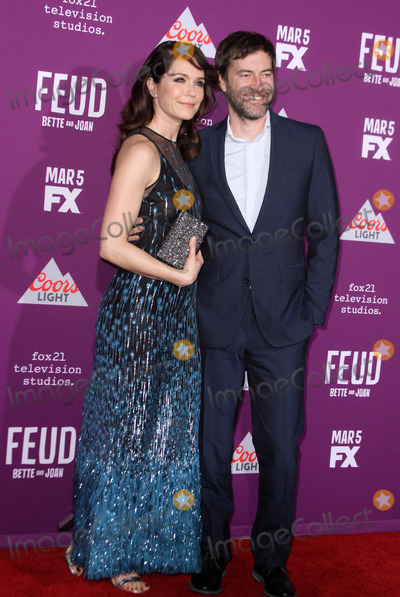 Mark Duplass, Katie Aselton, Grauman's Chinese Theatre Photo - 1 March 2017 - Los Angeles, California - Katie Aselton with husband Mark Duplass. FXs Feud: Bette and Joan Premiere held at the Graumans Chinese Theatre. Photo Credit: AdMedia
