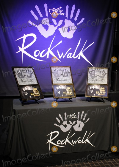 Atmosphere, Rush, Rush Photo - 20 November 2012 - Hollywood, California - Atmosphere, Rush. Rush Induction into Guitar Center's Rockwalk held at Guitar Center Hollywood. Photo Credit: Byron Purvis/AdMedia