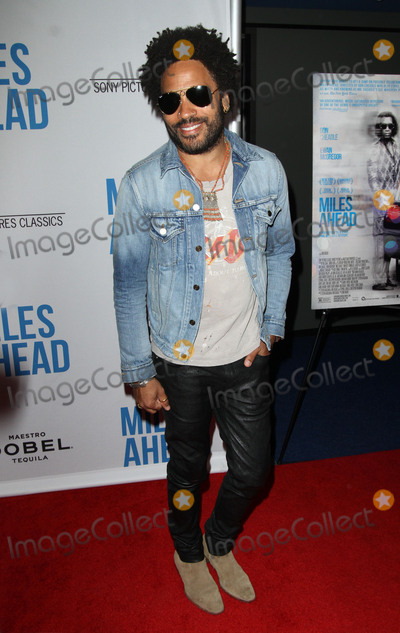 Lenny Kravitz Photo - 29 March 2016 - Beverly Hills, California - Lenny Kravitz. Premiere of Sony Pictures Classics Miles Ahead held at the Writers Guild Theater. Photo Credit: AdMedia