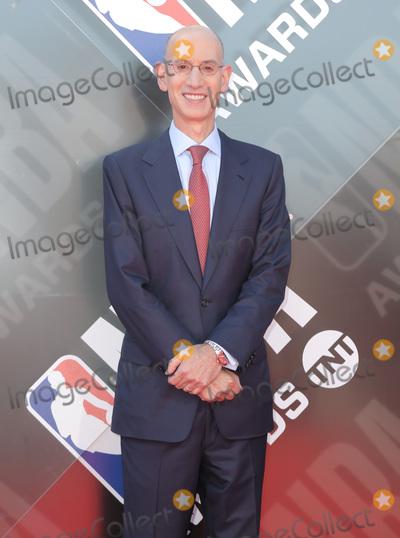 Adam Silver Photo - 25 June 2018 - Santa Monica, California - Adam Silver. 2018 NBA Awards held at Barker Hangar. Photo Credit: PMA/AdMedia