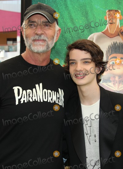"Andy McPhee Photo - 05 August 2012 - Universal City, California - Andy McPhee, Kodi Smit-McPhee. ""ParaNorman"" Los Angeles Premiere held at AMC CityWalk Stadium 19 Theatre. Photo Credit: Russ Elliot/AdMedia"