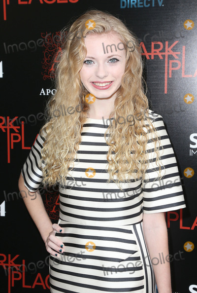 "Addy Miller Photo - 21 July 2015 - Los Angeles, California - Addy Miller. ""Dark Places"" Los Angeles Premiere held at Harmony Gold Theatre. Photo Credit: F. Sadou/AdMedia"