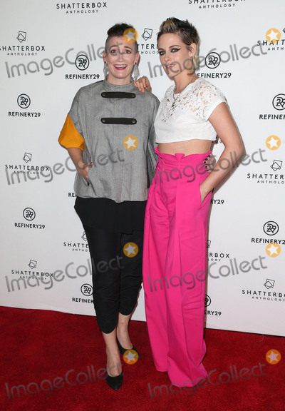 "Kristen Stewart, Amy Emmerich Photo - 09 November 2017 - Los Angeles, California - Amy Emmerich, Kristen Stewart. Starlight Studios And Refinery29 ""Come Swim"" Los Angeles Premiere. Photo Credit: F. Sadou/AdMedia"