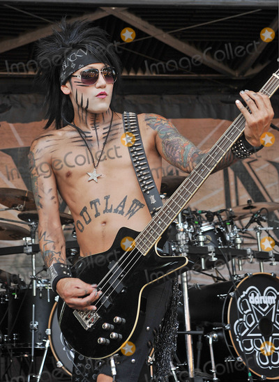 Ashley Purdy Photo - 20 July 2011 - Cleveland, OH - Bassist ASHLEY PURDY of the band BLACK VEIL BRIDES performs on a stop of the Vans Warped Tour 2011 held at the Blossom Music Center.  Photo Credit: Jason L Nelson/AdMedia