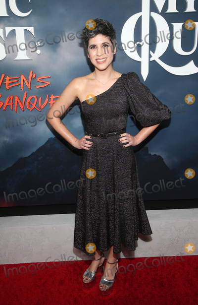"""Ashly Burch, Raven Photo - 29 January 2020 - Hollywood, California - Ashly Burch. Premiere Of Apple TV+'s """"Mythic Quest: Raven's Banquet"""" held at The Cinerama Dome. Photo Credit: FS/AdMedia"""