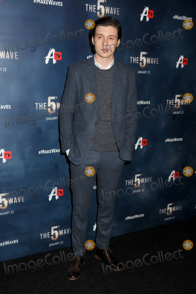 "Nick Robinson Photo - 14 January 2016 - Los Angeles, California - Nick Robinson. ""The 5th Wave"" Los Angeles Premiere held at Pacific Theatres At The Grove. Photo Credit: Byron Purvis/AdMedia"