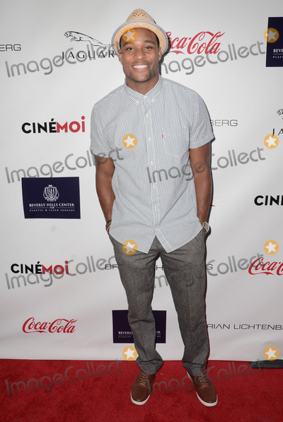 Aundre Dean Photo - 29 August 2015 - Beverly Hills, California - Aundre Dean. Arrivals for the Children Uniting Nations and National Coalition Against Domestic Violence Benefit held at a Private Residence. Photo Credit: Birdie Thompson/AdMedia