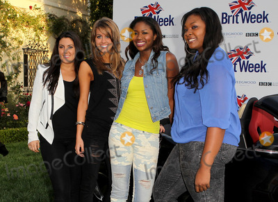 """Candice Glover, Kree Harrison, Amber Holcomb, Angie Miller Photo - 23 April 2013 - Los Angeles, California - Kree Harrison, Angie Miller, Amber Holcomb, Candice Glover. 7th Annual BritWeek Festival """"A Salute To Old Hollywood"""" Launch Party held at the British Consul General's Residence. Photo Credit: Kevan Brooks/AdMedia"""