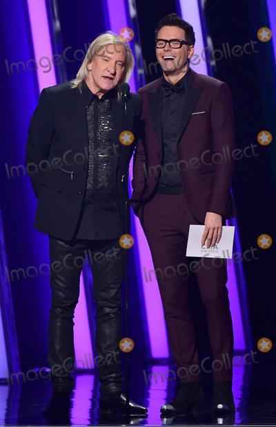 Joe Walsh, CMA Award, Bobby Bones, Joe Corré Photo - 13 November 2019 - Nashville, Tennessee - Joe Walsh, Bobby Bones. 51st Annual CMA Awards, Country Music's Biggest Night, held at Bridgestone Arena. Photo Credit: Laura Farr/AdMedia