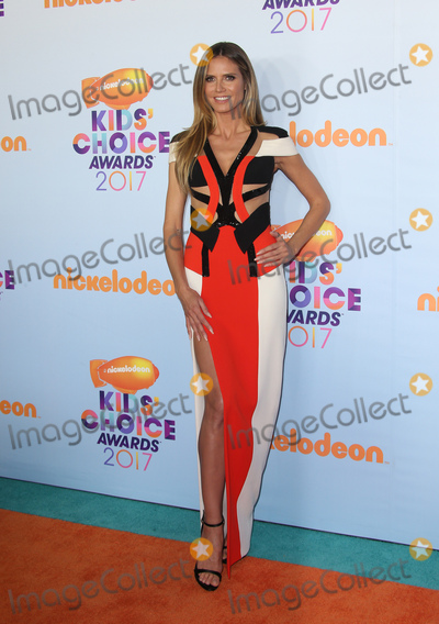Heidi Klum Photo - 11 March 2017 -  Los Angeles, California - Heidi Klum. Nickelodeon's Kids' Choice Awards 2017 held at USC Galen Center. Photo Credit: Faye Sadou/AdMedia