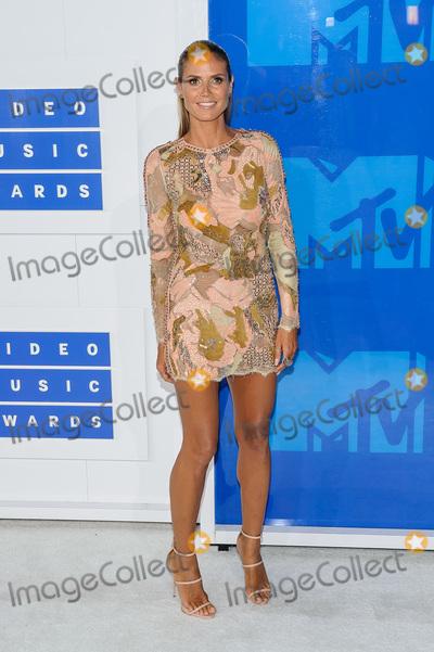 Heidi Klum Photo - 28 August 2016 - New York, New York - Heidi Klum.  2016 MTV Video Music Awards at Madison Square Garden. Photo Credit: Mario Santoro /AdMedia