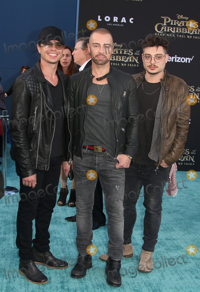 "Andrew Lawrence, Joey Lawrence, Matthew Lawrence Photo - 18 May 2017 - Hollywood, California - Andrew Lawrence, Joey Lawrence, Matthew Lawrence. Disney's ""Pirates Of The Caribbean: Dead Men Tell No Tales"" Los Angeles Premiere held at the Dolby Theatre. Photo Credit: AdMedia"