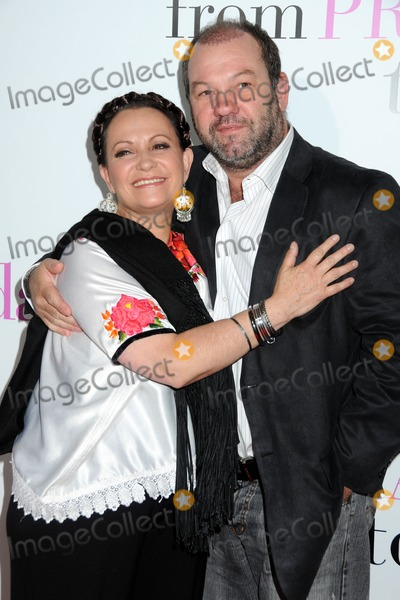 "Adriana Barraza Photo - 18 January 2011 - Los Angeles, California - Adriana Barraza and Arnaldo Pipke. ""From Prada to Nada"" World Premiere held at Regal Cinemas LA Live. Photo: Byron Purvis/AdMedia"