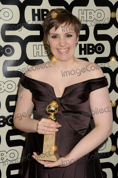 Lena Dunham Photo - 13 January 2013 - Beverly Hills, California - Lena Dunham. HBO's 70th Annual Golden Globes After Party held at Circa 55 Restaurant. Photo Credit: Byron Purvis/AdMedia