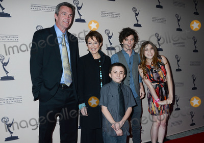 "Neil Flynn, Patricia Heaton, Atticus Shaffer, Eden Sher Photo - 26 March 2012 - North Hollywood, California - Neil Flynn, Patricia Heaton, Atticus Shaffer, Charlie McDermott and Eden Sher. An Evening With ""The Middle"" Presented By The Academy of Television Arts and Sciences held at the Leonard H. Goldenson Theatre. Photo Credit: Birdie Thompson/AdMedia"