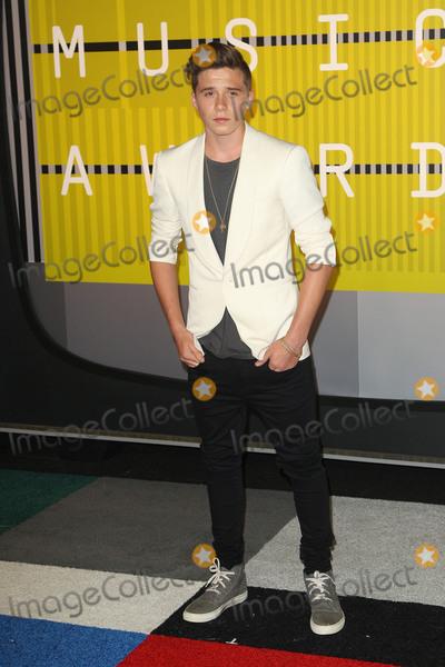 Brooklyn Beckham Photo - 30 August 2015 - Los Angeles, California - Brooklyn Beckham. 2015 MTV Video Music Awards - Arrivals held at Microsoft Theater. Photo Credit: AdMedia