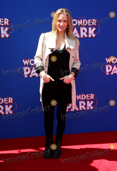 "A.J. Cook, A. J. Cook, Aj Cook, AJ Cook, A.J Cook Photo - 10 March 2019 - Westwood, California - A.J. Cook. ""Wonder Parker"" Los Angeles Premiere held at Regency Village Theater. Photo Credit: Faye Sadou/AdMedia"