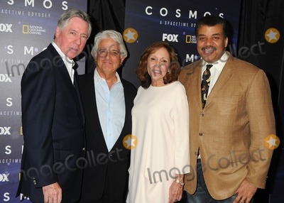 """Alan Silvestri, Ann Druyan, Mitchell Cannold, Anna Maria Perez de Taglé, Hüsker Dü, Isaach De Bankolé Photo - 3 August 2014 - Beverly Hills, California - Alan Silvestri, Mitchell Cannold, Ann Druyan, Neil DeGrasse Tyson. """"Cosmos: A Spacetime Odyssey"""" Screening and Q&A Panel held at The Paley Center For Media. Photo Credit: Byron Purvis/AdMedia"""