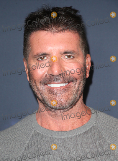"""Simon Cowell Photo - 13 August 2019 - Hollywood, California - Simon Cowell. """"America's Got Talent"""" Season 14 Live Show Red Carpet held at Dolby Theatre. Photo Credit: FSadou/AdMedia"""