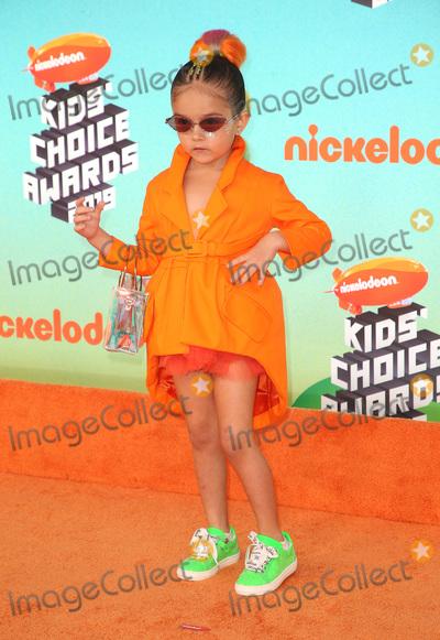 Taylen Biggs Photo - 23 March 2019 - Los Angeles, California - Taylen Biggs. 2019 Nickelodeon Kids' Choice Awards held at The USC Galen Center. Photo Credit: Faye Sadou/AdMedia
