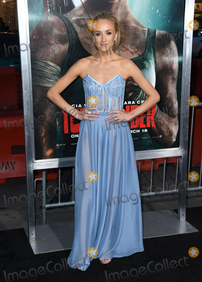 "Natasia Liukin, TCL Chinese Theatre Photo - 12 March 2018 - Hollywood, California - Natasia Liukin. ""Tomb Raider"" Los Angeles Premiere held at TCL Chinese Theatre. Photo Credit: Birdie Thompson/AdMedia"