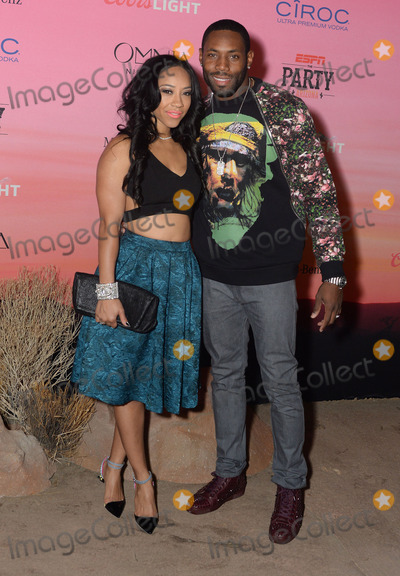 Antonio Cromartie, Terricka Cason Photo - 30 January 2015 - Scottsdale, Arizona - Antonio Cromartie, Terricka Cason. ESPN The Party held at WestWorld of Scottsdale. Photo Credit: Keith Sparbanie/AdMedia