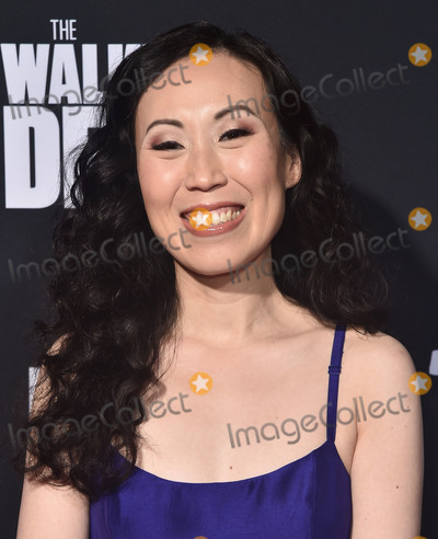 "Angela Kang, TCL Chinese Theatre Photo - 24 September 2019 - Hollywood, California - Angela Kang. ""The Walking Dead"" Season 10 Los Angeles Premiere held at The TCL Chinese Theatre. Photo Credit: Birdie Thompson/AdMedia"
