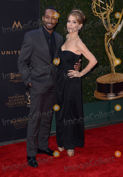 Anthony Montgomery, Lisa LoCicero Photo - 29 April 2016 - Los Angeles, California - Anthony Montgomery, Lisa Locicero. Arrivals for the 43rd Annual Daytime Creative Arts Emmy Awards held at the Westin Bonaventure Hotel and Suites Photo Credit: Birdie Thompson/AdMedia