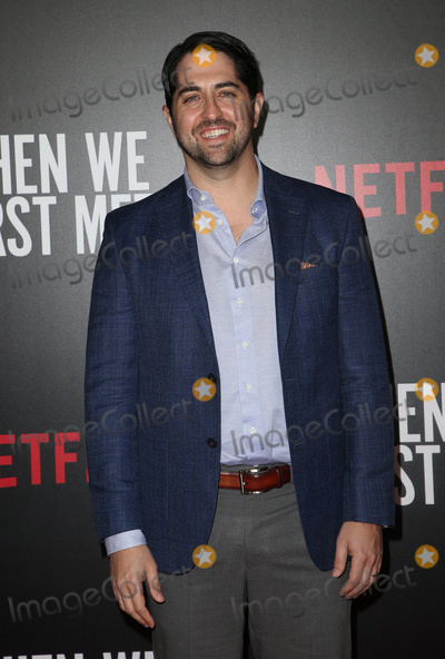 """Adam Saunders Photo - 20 February 2018 - Hollywood, California - Adam Saunders. Special Screening of Netflix """"When We First Met"""" held at Arclight Hollywood. Photo Credit: F. Sadou/AdMedia"""
