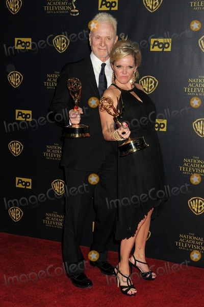 Anthony Geary, Maura West Photo - 26 April 2015 - Burbank, California - Anthony Geary, Maura West. The 42nd Annual Daytime Emmy Awards - Press Room held at Warner Bros. Studios. Photo Credit: Byron Purvis/AdMedia