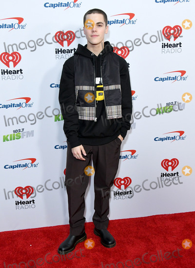 AJ Mitchell Photo - 06 December 2019 - Los Angeles, California - AJ Mitchell. KIIS FM's iHeartRadio Jingle Ball 2019 held at The Forum. Photo Credit: Birdie Thompson/AdMedia